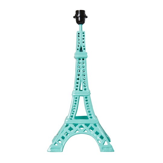 Rice Metal Eifel Tower Table Lamp Mint Mint