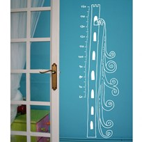 Chispum Princess Tower Growth Chart Black