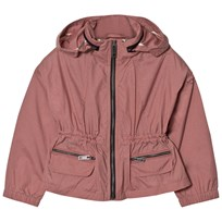 Burberry Packaway Hood Showerproof Jacket Rose Pink Rose Pink
