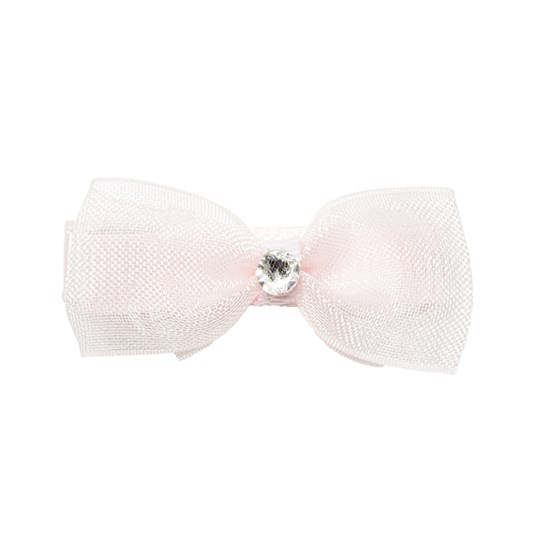 Prinsessefin Caroline Organza Baby Hair Clip Bow Icy Pink ICY PINK