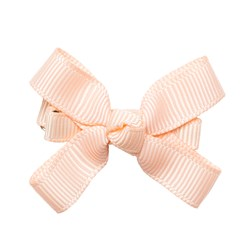 Prinsessefin Isadora Baby Clip with Bow Petal Peach