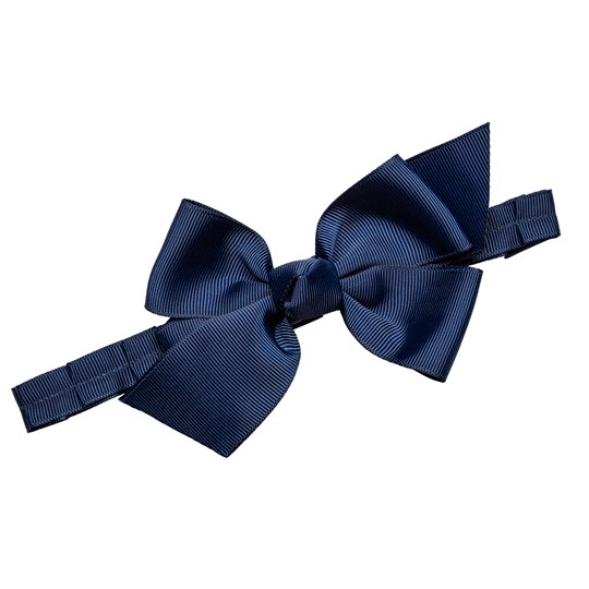 Prinsessefin Anne Grethe Headband with Bow Navy Laivastonsininen