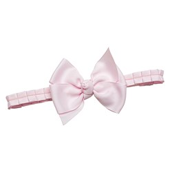 Prinsessefin Anne Grethe Headband with Bow Icy Pink