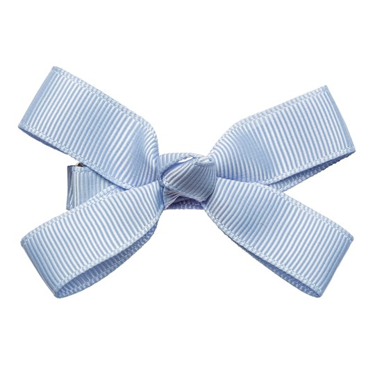 Prinsessefin Martha Double Hairclip with Bow Bluebell Bluebell