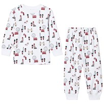 Kissy Kissy White London Landmarks Print Pyjamas WH