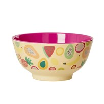 Rice Melamine Bowl Fruit Print Fruit