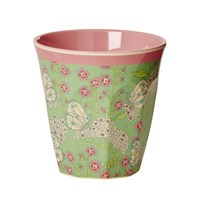 RICE A/S Melamine Medium Mugg Butterfly Butterfly