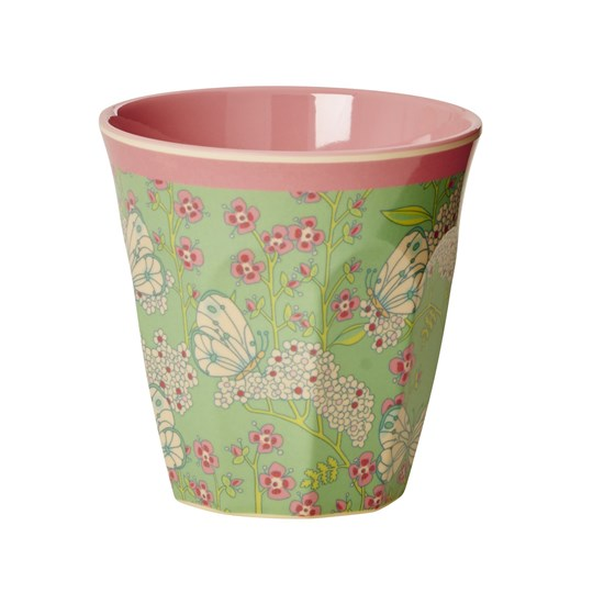 Rice Melamine Medium Cup Butterfly Butterfly