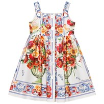 Dolce & Gabbana Floral Majolica Print Dress HAD23
