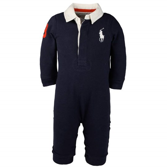 Ralph Lauren Big PP Rugby Coverall Navy Blue