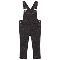 Stella McCartney Kids Black Lake Overall Splat Dungarees 1095