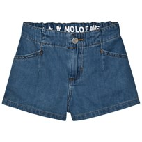 Molo Alta Shorts Soft Denim Blue Soft denim blue