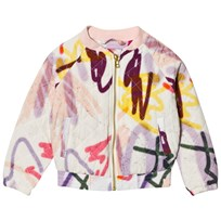 Molo Haliva Quilted Jacket Graffiti Graffiti