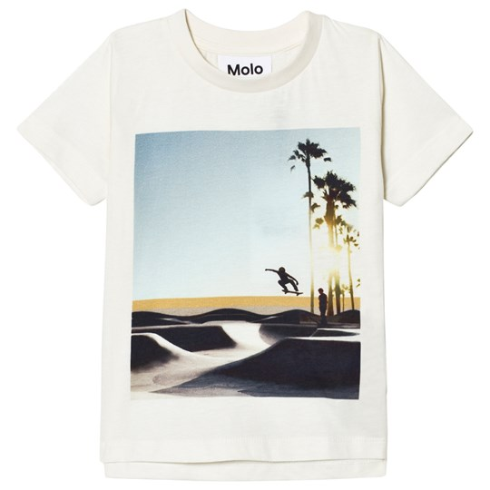 Molo Read T-Shirt White Cloud White Cloud