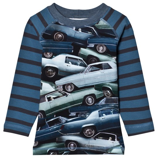 Molo Ryan T-Shirt Stacked Cars Stacked Cars