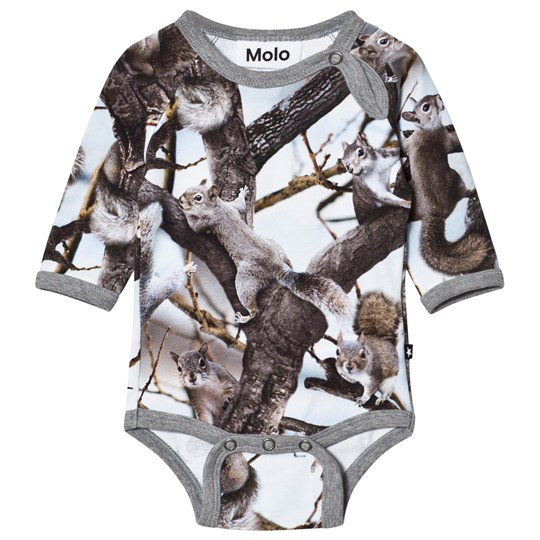 Molo Field Baby Body Squirrels Squirrels