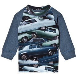 Molo Eliot T-Shirt Stacked Cars