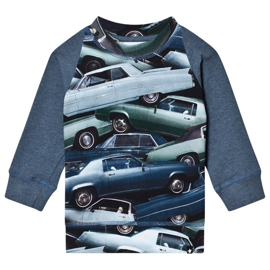 Molo Eliot T-Shirt Stacked Cars Stacked Cars