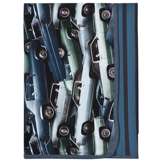 Molo Niles Blanket Stacked Cars Stacked Cars