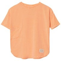 Molo Rana T-shirt Fiery Coral Mini Stripe Fiery Coral Mini Stripe