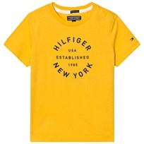 Tommy Hilfiger Yellow Branded Tee 710