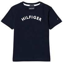 Tommy Hilfiger Navy Branded Tee 431