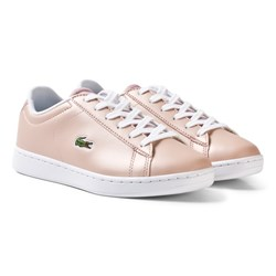 Lacoste Carnaby Evo SPI Trainers Pale Pink