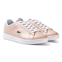 Lacoste Carnaby Evo SPI Trainers Pale Pink Pale Pink