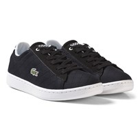 Lacoste Carnaby Evo 317 3 Trainers Black Dark brown
