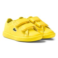 Lacoste Carnaby Evo 317 5 SPI Trainers Yellow Yellow