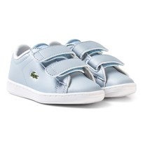 Lacoste Carnaby Evo SPI Trainers Pale Blue Pale Blue