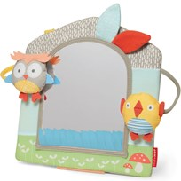 Skip Hop Treetop Friends Activity Mirror Grey/Pastel Grey/Pastel