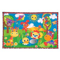 Playgro Party In The Park Super Mat White