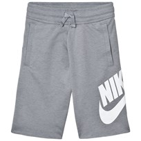 NIKE Grey Shorts STEALTH/WHITE
