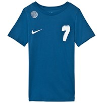 NIKE Blue CR7 Tee INDUSTRIAL BLUE/WHITE