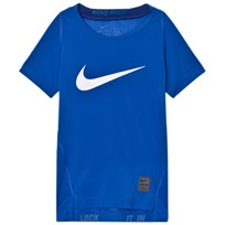 NIKE Branded Nike Pro Training Tee Blue GAME ROYAL/DEEP ROYAL BLUE/WHITE