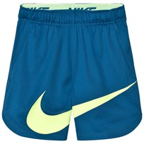 NIKE Dri-Fit Vent Graphic Shorts INDUSTRIAL BLUE/GHOST GREEN/GHOST GREEN
