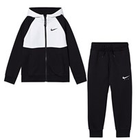 NIKE Black Nike Air Tracksuit BLACK/WHITE/BLACK