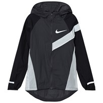 NIKE Impossibly Light Jacket in Black and Grey ANTHRACITE/BLACK/PURE PLATINUM