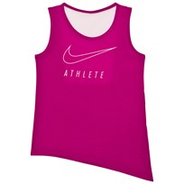 NIKE Pink Side Tie Training Tank Top SPORT FUCHSIA/PRISM PINK