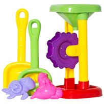 Suntoy Sand Wheel Set 2 Pieces Yellow