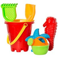 Suntoy Bucket Set Borg 7 Pieces Blue