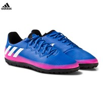 adidas Blue Fade Messi 16.3 Turf Football Boots Blue