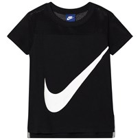 NIKE Black Swoosh Tee Sort