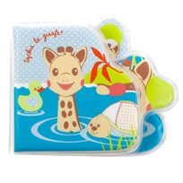 Sophie The Giraffe Bath Book Gift Box Multi