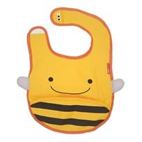 Skip Hop Zoo Tuck-Away Haklapp Bi Yellow