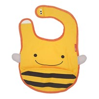 Skip Hop Zoo Tuck-Away Bib Bee Yellow