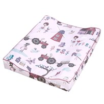 sebra Changing Pillow Farm Girl Pink