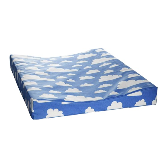 Färg & Form Changing Pad Clouds Blue Blue