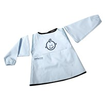 SootheTime Bib w. Sleeves Blue Sand